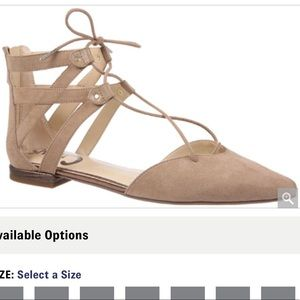 NEW circus by Sam Edelman lace up flats